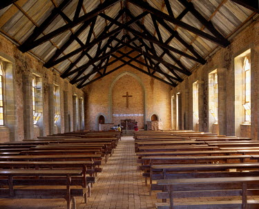 MW1021 In 1894, the Free Church of Scotland established a mission at Khondowe and renamed the place Livingstonia in memory of Dr David Livingstone, the great missionary-explorer, who died in 1873.  The const...