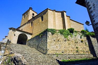SPA2905 Village Church, Isaba, Navarra, Spain
