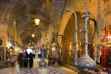 SY1156 The Souq ash-Shouna in Aleppo, Syria