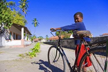 MOZ1173 A young boy on Ibo Island, part of the Quirimbas Archipelago, Mozambique
