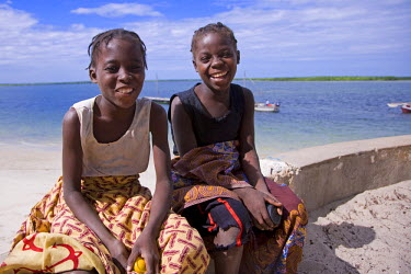 MOZ1142 Children on Ibo Island, part of the Quirimbas Archipelago, Mozambique