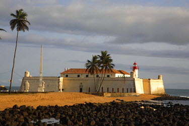 SAO1131 Fortaleza de Sao Sebastiao (Fort of Saint Sebastian) built in the early 16th century in the city of Sao Tome. It was built to protect the city. It was later to be the refuge of the Portuguese after a...