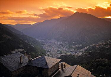 AN01001 Andorra la Vella, Andora, Pyrenees