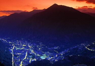 AN01002 Andorra la Vella, Andora, Pyrenees