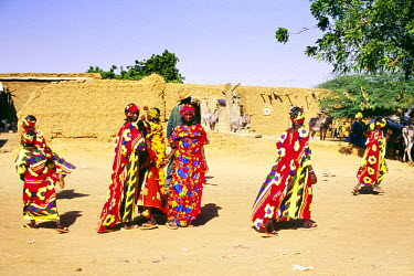 BF001BEW Fulani tribe, Burkina Faso, West Africa