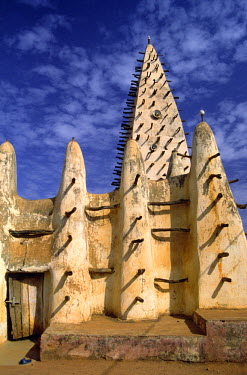 BF004BEW Great Mosque, Bobo Dioulasso, Burkina Faso, West Africa