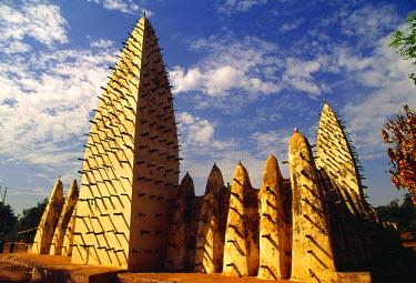 BF005BEW Great Mosque, Bobo Dioulasso, Burkina Faso, West Africa