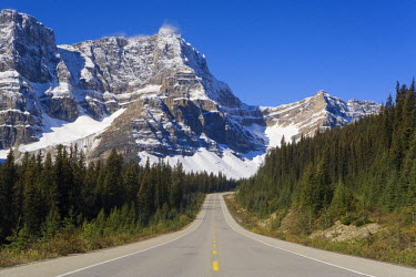 CA08105 The Icefields Parkway, between Banff & Jasper in Banff-Jasper National Parks, Rocky Mountains, Canada