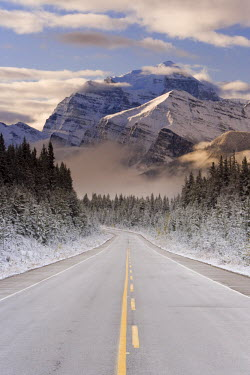 CA08138 The Icefields Parkway between Banff & Jasper in Banff-Jasper National Parks, Rocky Mountains, Canada