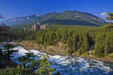 CA08189 Banff Springs Hotel, Banff Town, Alberta, Canada