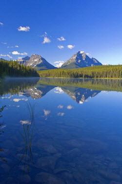 CA08202 Whirlpool Peak, Mt. Fryatt & Leech Lake, Jasper National Park, Alberta, Canada