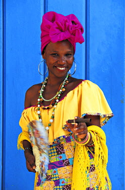 CB01033 Woman, Havana, Cuba
