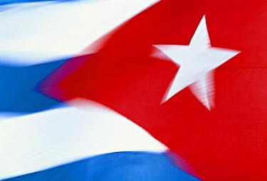 CB01035 Cuban Flag, Cuba