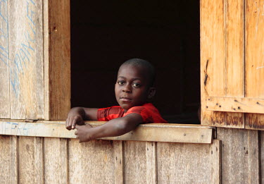 CE01012 Portrait, Bela Village, SE Cameroon