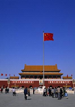 CN01051 Gate of Heavenly Peace, Tiananmen Sq, Beijing, China