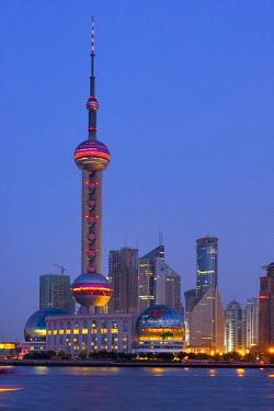 CN03069 Pudong Skyline, Shanghai, China