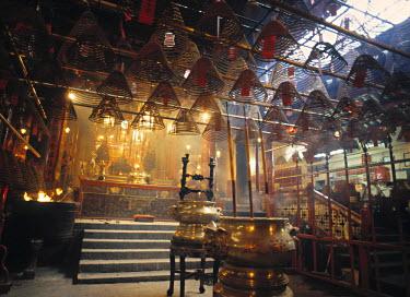 HK01045 Man Mo Temple, Hong Kong Island, China