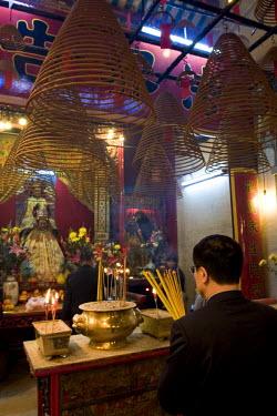 HK01165 Man Mo Temple, Hollywood Road, Hong Kong, China