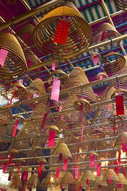 HK014RF Man Mo Temple, Hollywood Road, Hong Kong, China