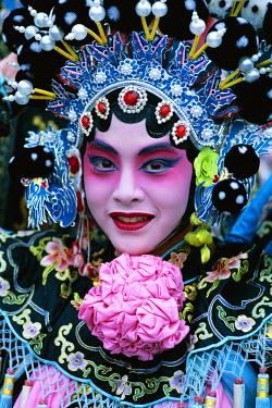 TPX1473 Chinese Opera (Beijing Opera) / Actor Dressed in Costume / Portrait, Beijing, China