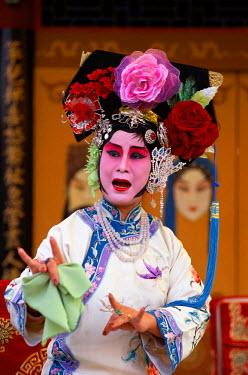 TPX1552 Chinese Opera (Beijing Opera) / Actor Performing, Beijing, China