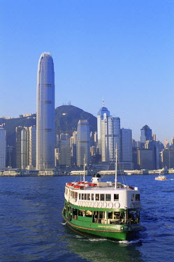 TPX8566 China, Hong Kong, Star Ferry and City Skyline