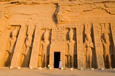 EG03098 Temple of Hathor, Abu Simbel, Aswan, Egypt