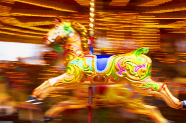 TPX10758 England, Skegness, Carousel Horse