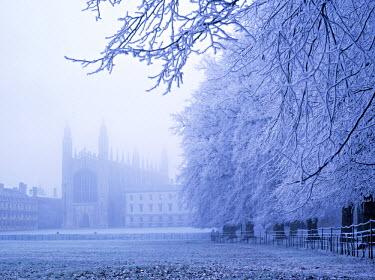 UK02188 Kings College and Chapel, Cambridge, England