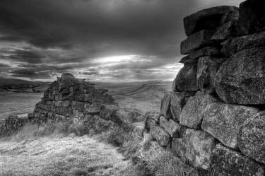 UK02574 UK, Northumberland, Hadrians Wall