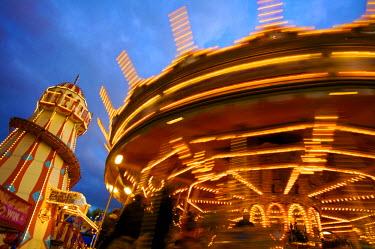 UK02617 Goose Fair, Nottingham, England, UK