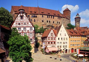 DE06111 Kaiserburg Castle, Nuremberg, Bavaria, Germany