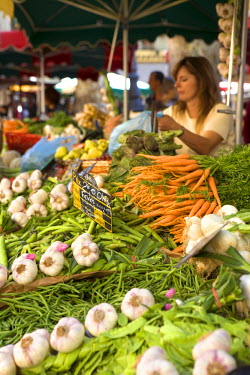 FR02197 Market, Place Richelme, Aix-En-Provence, Provence, France