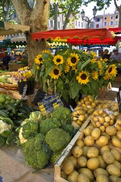 FR02199 Market, Place Richelme, Aix-En-Provence, Provence, France