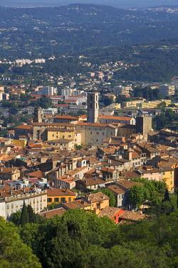 FR02242 City Overview, Grasse, Provence, France
