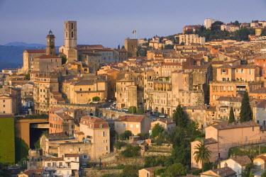 FR02248 City Overview, Grasse, Provence, France