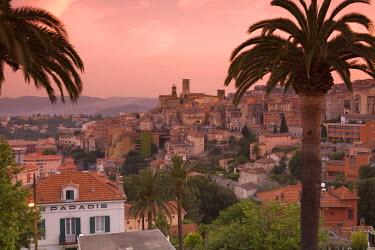 FR02249 City Overview, Grasse, Provence, France