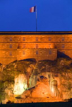 FR03069 Citadelle of Belfort & Lion de Belfort, Jura, France