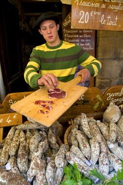 FR05199 Sarlat Markets, Sarlat, Dordogne, France
