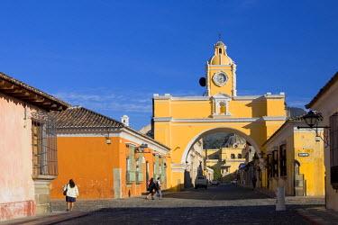 GT042RF Arco de Santa Catalina, La Antigua Guatemala (Unesco Site), Guatemala