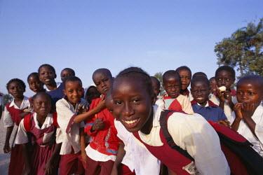 TPX5347 School Children, Banjul, Gambia