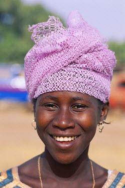 TPX5356 African Woman / Portrait, Banjul, Gambia