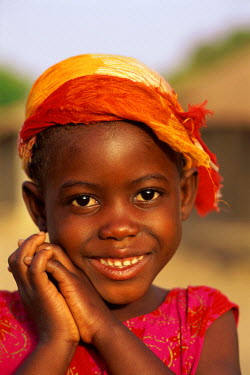 TPX5359 African Girl / Child / Portrait, Banjul, Gambia
