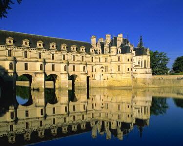 TPXE0234 France, Loire Valley, Chenonceaux Castle