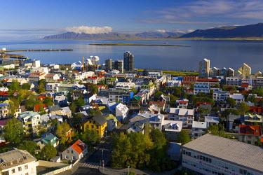 IC01030 View from Hallgrimskirkja (church), Reykjavik, Iceland