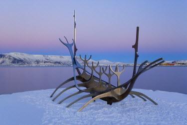 IC01041 Sun-Craft sculpture (Viking Ship), Reykjavik, Iceland