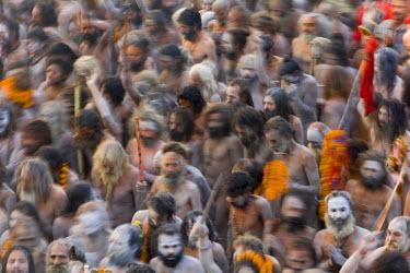 IN04122 Kumbh Mela Festival, Allahabad, Uttar Pradesh, India