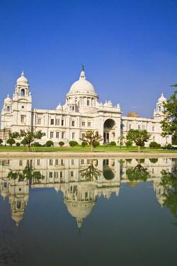 IN04147 India, West Bengal, Kolkata, Calcutta, Chowringhee, Victoria Memorial