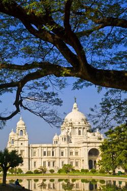 IN04149 India, West Bengal, Kolkata, Calcutta, Chowringhee, Victoria Memorial