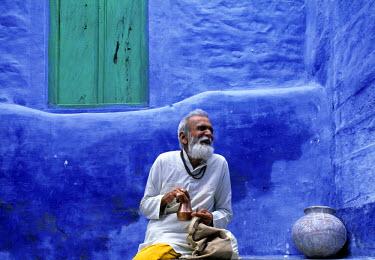 IN05057 Old Man, Jodhpur, Rajasthan, India